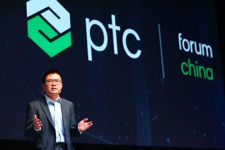 PTC全球资深副总裁兼大中华区总裁刘强进行开场致辞