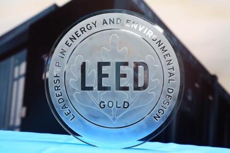 图一 台达吴江研发制造中心获全球首个 LEED v4 ID+C 金级机房认证荣