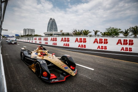 25 VERGNE Jean Eric (fra), DS e-tense FE19 team DS TECHEETAH, action during the 2019 Formula E championship, at Sanya, China  from march 21 to 23, 2019 - Photo Germain Hazard / DPPI
