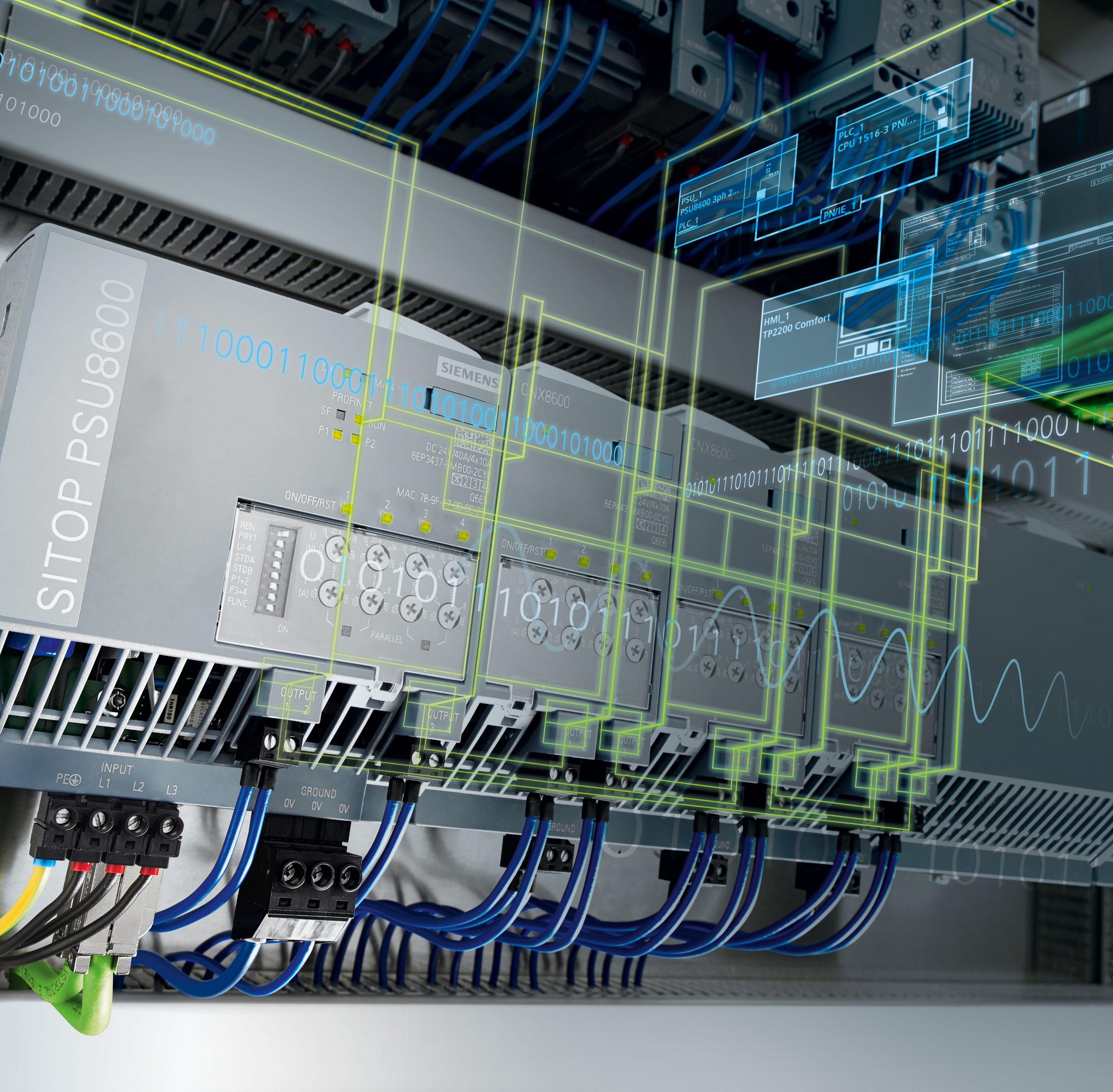新闻图片_西门子推出PSU8600主电源模块 易于诊断和系统配置
