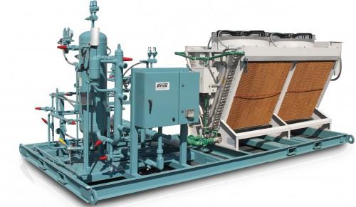江森自控的绿色环保冷媒应用——氨冷库超低充注集中系统节能环保解决方案(LCCS)